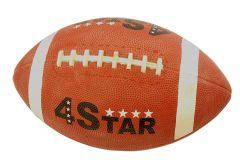 Unisex Indoor Outdoor Performer Brown 4 Star Rugby Ball