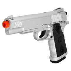 ZM25 Pistol Airsoft Gun Spring Metal Silver FPS-230